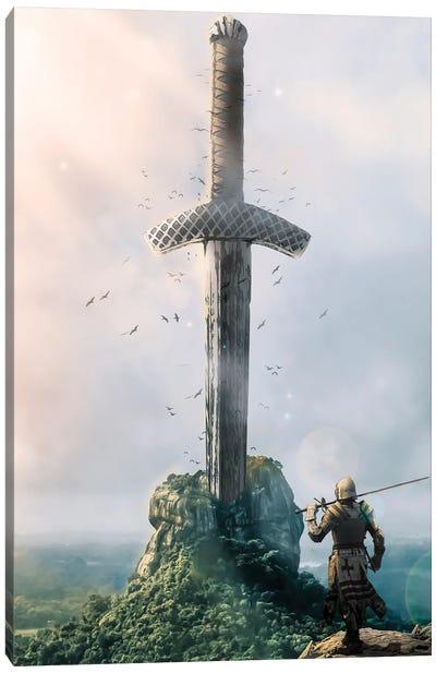 Excalibur Canvas Art Print