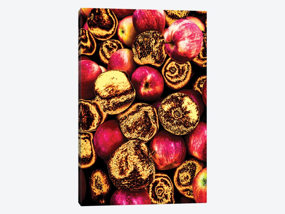 Golden Apples by Manuel Luces 1-piece Canvas Wall Art