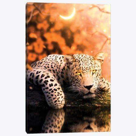 Jaguar Canvas Print #MNU42} by Manuel Luces Canvas Wall Art