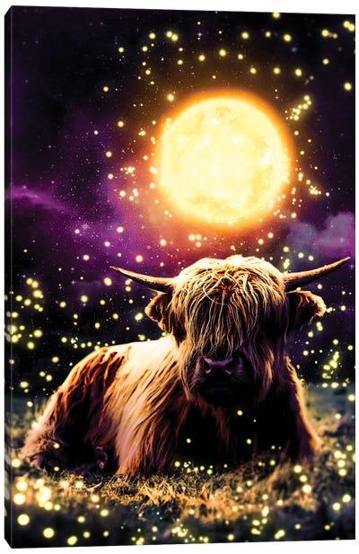 Ox Spirit Canvas Art Print