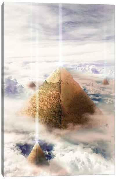 Piramids Canvas Art Print