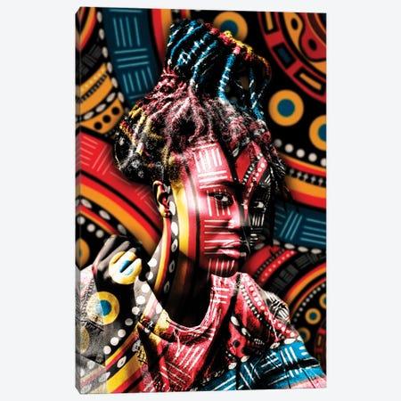 Princess Canvas Print #MNU60} by Manuel Luces Canvas Art
