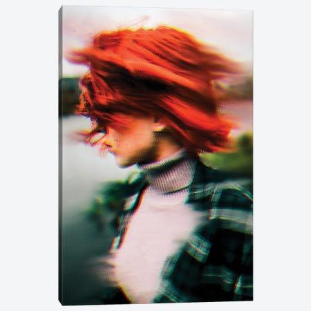 Redhead Canvas Print #MNU62} by Manuel Luces Canvas Art