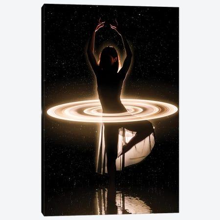 Space Dancer Canvas Print #MNU65} by Manuel Luces Art Print