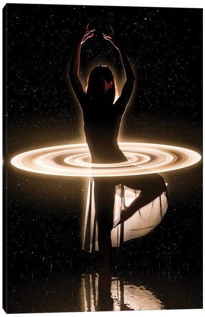 Space Dancer Canvas Art Print