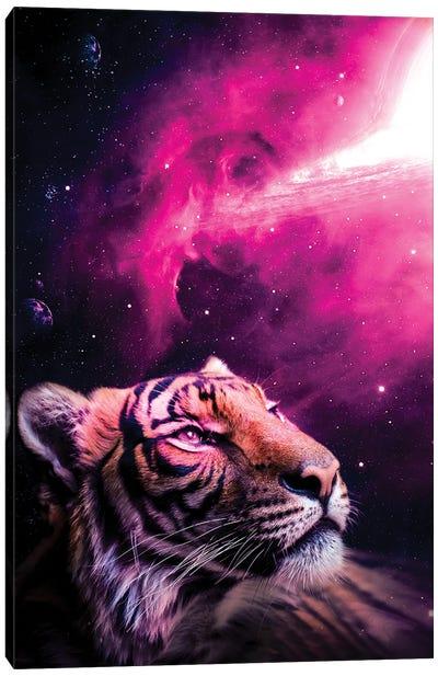 Tiger Stars Canvas Art Print