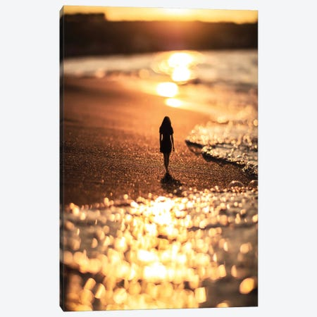 Lonely Canvas Print #MNU75} by Manuel Luces Canvas Wall Art