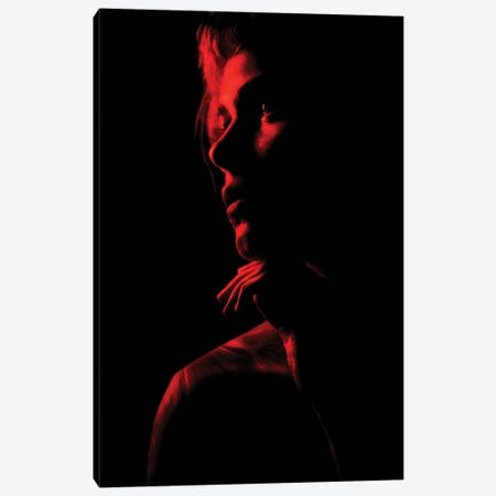 Red Canvas Print #MNU82} by Manuel Luces Canvas Wall Art