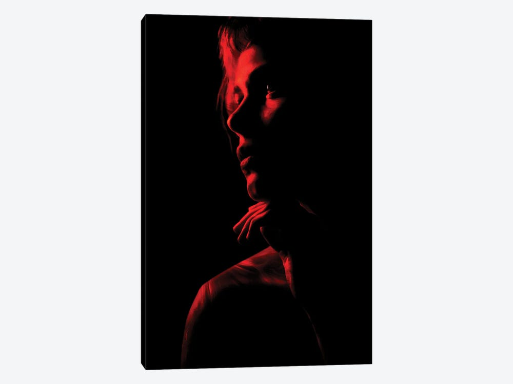 Red by Manuel Luces 1-piece Art Print