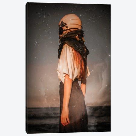 Astronaut Canvas Print #MNU90} by Manuel Luces Art Print