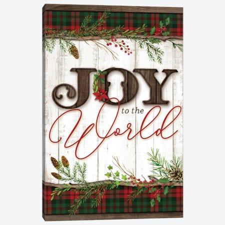 Joy to the World Canvas Print #MOB11} by Mollie B. Art Print