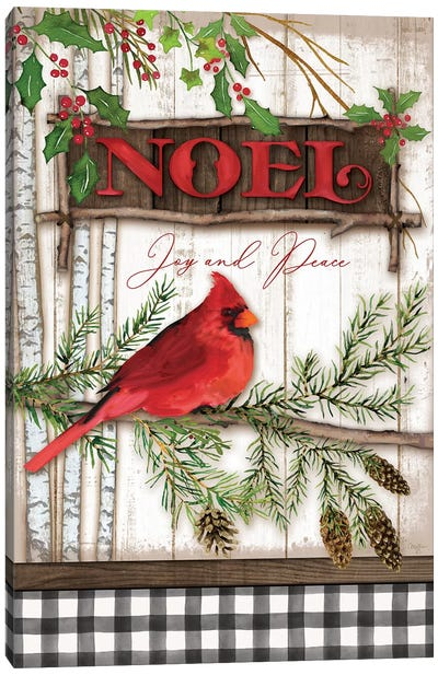 Noel Cardinal Canvas Art Print