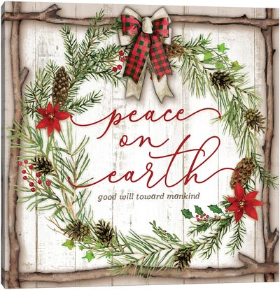 Peace on Earth Canvas Art Print