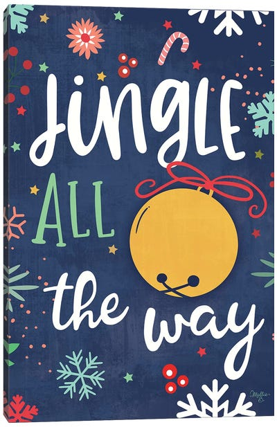 Jingle All the Way Canvas Art Print