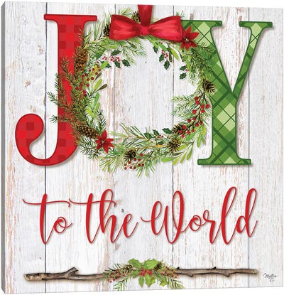 Joy To The World Canvas Art Print