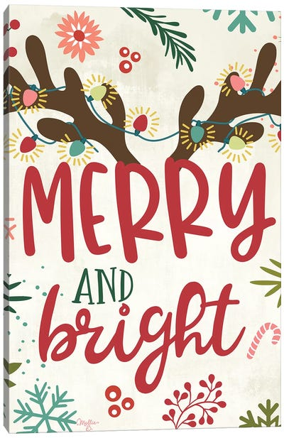 Merry And Bright Canvas Art Print