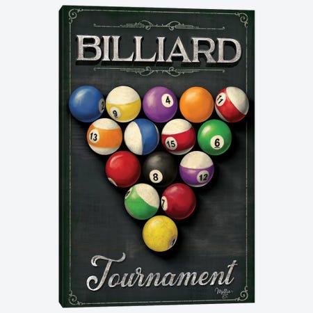 Billiards Tournament    Canvas Print #MOB44} by Mollie B. Art Print