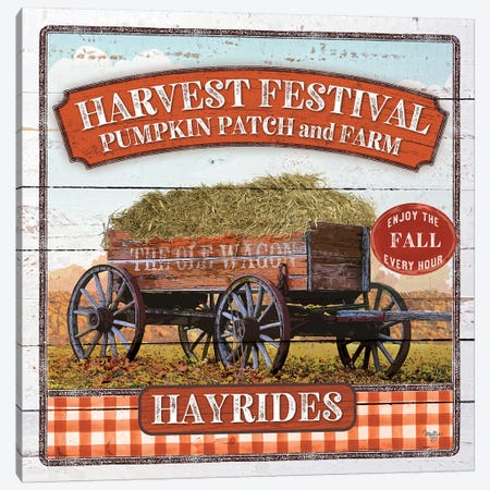 Harvest Festival Canvas Print #MOB48} by Mollie B. Canvas Art