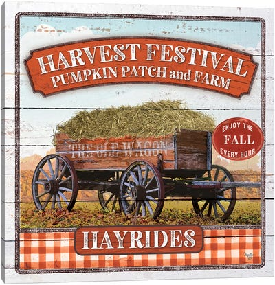 Harvest Festival Canvas Art Print
