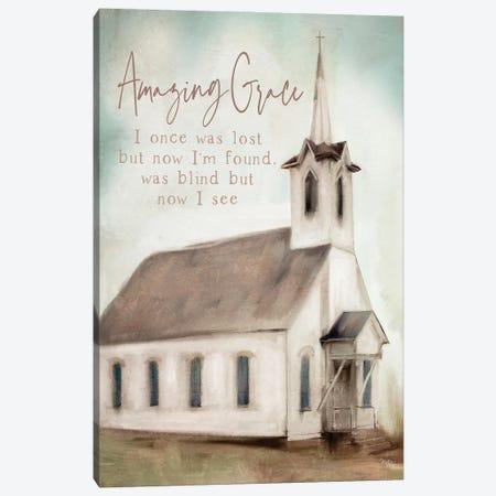 Amazing Grace Canvas Print #MOB57} by Mollie B. Canvas Artwork