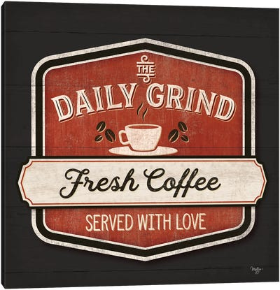 The Daily Grind Canvas Art Print