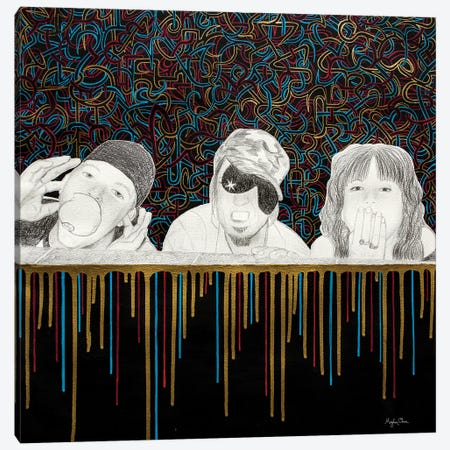 No Evil Canvas Print #MOC14} by Meghan Oona Clifford Canvas Print