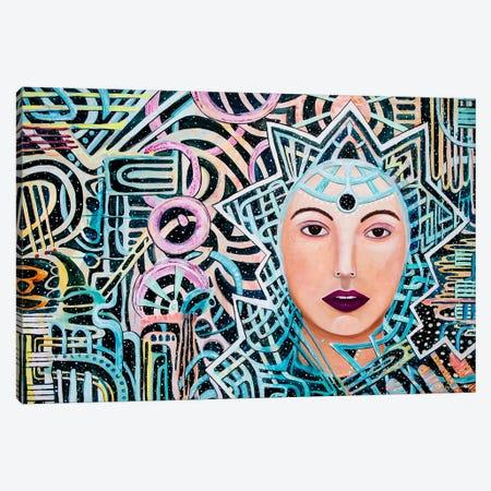 Oracle Canvas Print #MOC16} by Meghan Oona Clifford Canvas Art Print