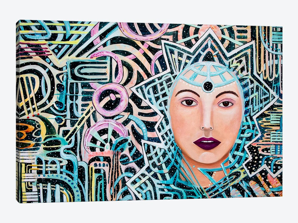 Oracle by Meghan Oona Clifford 1-piece Canvas Art Print