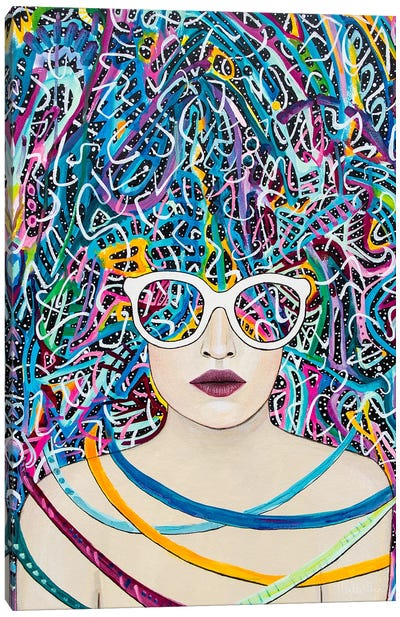 Spectacles Canvas Art Print