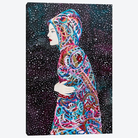 Star Born Canvas Print #MOC18} by Meghan Oona Clifford Canvas Artwork