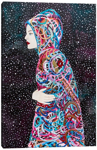 Star Born Canvas Art Print