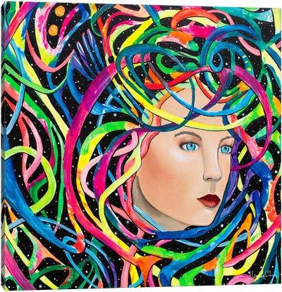 The Wormhole Canvas Art Print