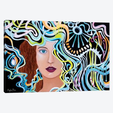Summoning Canvas Print #MOC30} by Meghan Oona Clifford Canvas Artwork