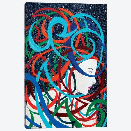Interwoven Canvas Print #MOC8} by Meghan Oona Clifford Canvas Art