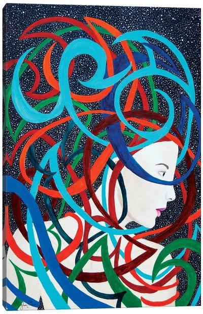 Interwoven Canvas Art Print