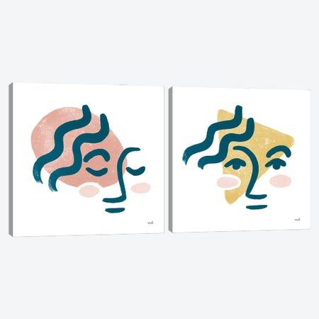 Awaken Diptych Canvas Print Set #MOH2HSET003} by Moira Hershey Art Print