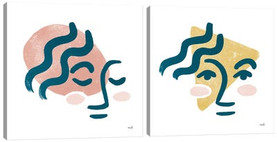 Awaken Diptych Canvas Art Print