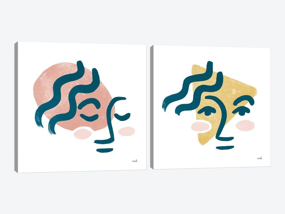 Awaken Diptych by Moira Hershey 2-piece Canvas Art