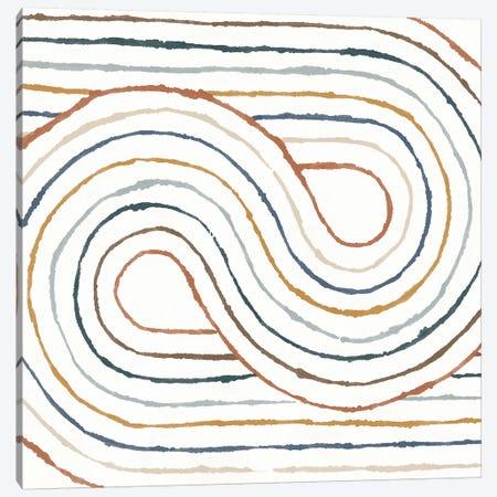Rainbow Road I Canvas Print #MOH39} by Moira Hershey Canvas Art Print