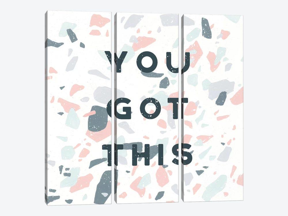 Terrazzo Inspiration II You by Moira Hershey 3-piece Canvas Art Print