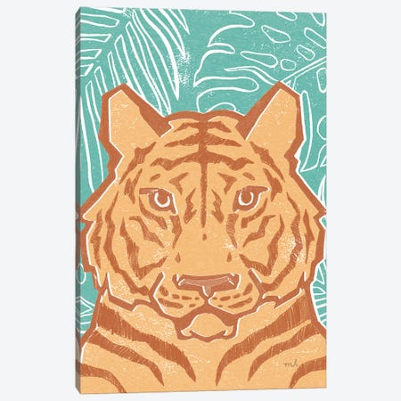 Jungle I Canvas Print #MOH54} by Moira Hershey Canvas Artwork