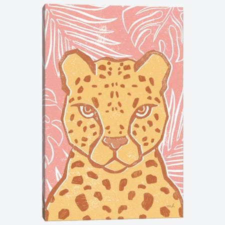 Jungle II Canvas Print #MOH55} by Moira Hershey Canvas Wall Art