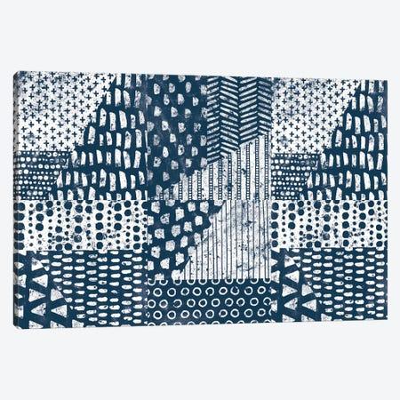 Mark Making Tile VI Canvas Print #MOH56} by Moira Hershey Canvas Artwork