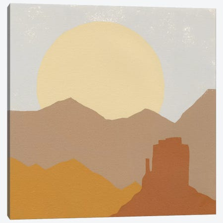 Desert Sun I Canvas Print #MOH63} by Moira Hershey Canvas Wall Art