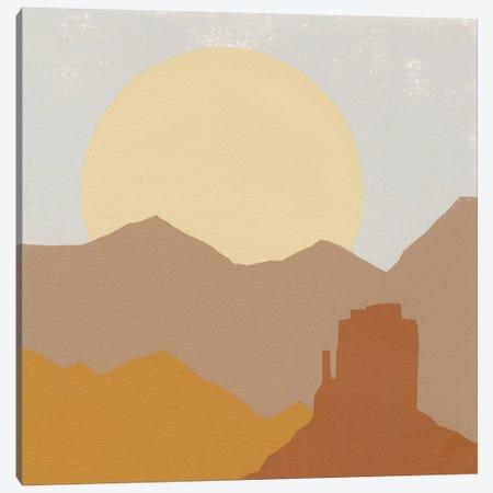 Desert Sun I Canvas Print #MOH63} by Moira Hershey Canvas Wall Art