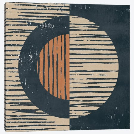 Primitive I 3-Piece Canvas #MOH70} by Moira Hershey Art Print