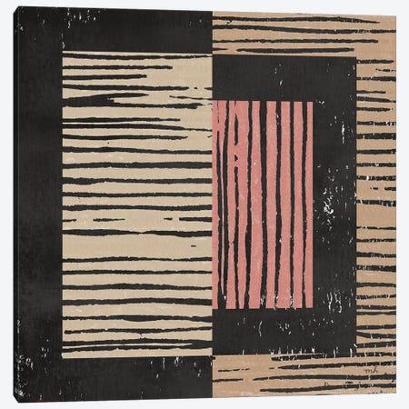 Primitive II Terra Cotta Canvas Print #MOH79} by Moira Hershey Canvas Art Print
