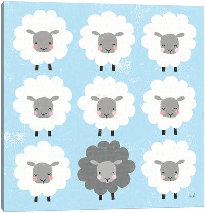 Be Ewe Canvas Art Print