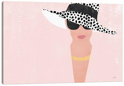 Fashion Forward Blush Canvas Art Print