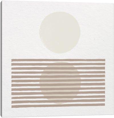 Reflection I Neutral Canvas Art Print
